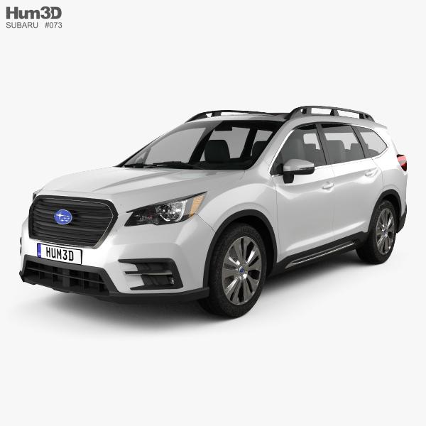 Subaru Ascent Touring 2018 3D model