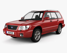 3D model of Subaru Forester S-Turbo 2000