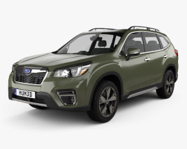 3D model of Subaru Forester Touring 2018