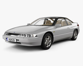 3D model of Subaru SVX with HQ interior 1992