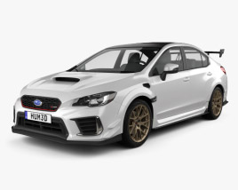 3D model of Subaru WRX STI S209 US-spec 2019