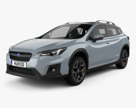 3D model of Subaru XV 2019