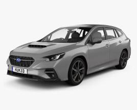3D model of Subaru Levorg 2020