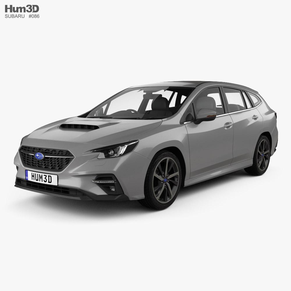 Subaru Levorg 2020 3D model