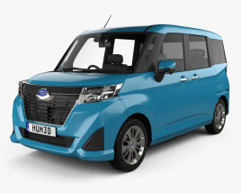 3D model of Subaru Justy G 2016