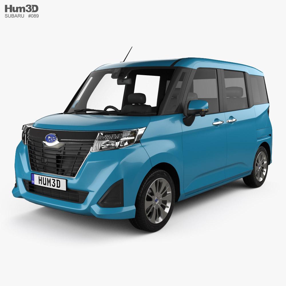 3D model of Subaru Justy G 2016
