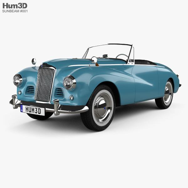 Sunbeam Alpine 1953 3D model