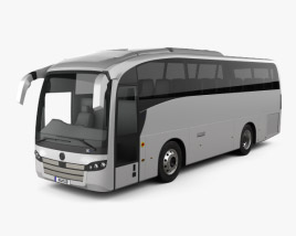 3D model of Sunsundegui SC5 Bus 2015