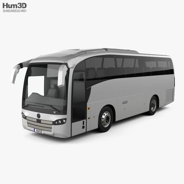 Sunsundegui SC5 Bus 2015 3D model