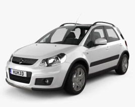 3D model of Suzuki SX4 2010