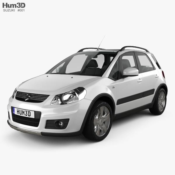 3D model of Suzuki SX4 2010