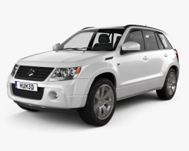 3D model of Suzuki Grand Vitara 2011