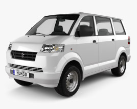 3D model of Suzuki APV 2010