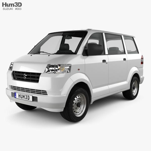Suzuki APV 2010 3D model