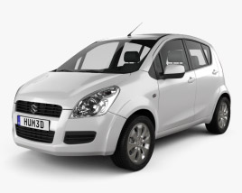 3D model of Suzuki Splash 2008