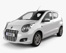3D model of Suzuki Alto 2011