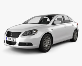 3D model of Suzuki Kizashi 2010