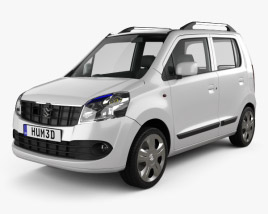 3D model of Suzuki (Maruti) Wagon R 2011