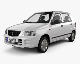 3D model of Suzuki Maruti Alto 2012