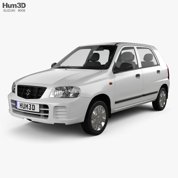 Suzuki Maruti Alto 2012 3D model