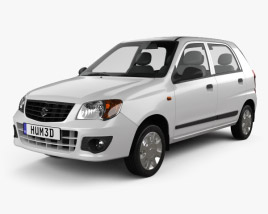 3D model of Suzuki (Maruti) Alto K10 2012