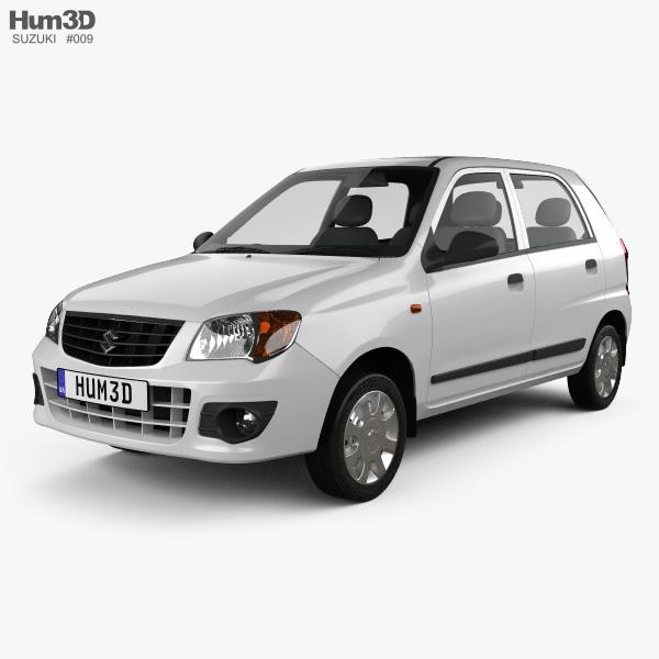 Suzuki (Maruti) Alto K10 2012 3D model