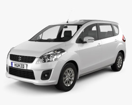 3D model of Suzuki (Maruti) Ertiga 2012
