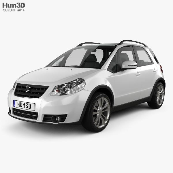 3D model of Suzuki (Maruti) SX4 hatchback 2012
