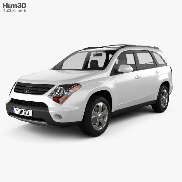 Suzuki XL7 2009 3D model