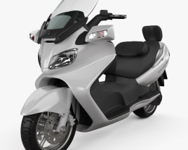 3D model of Suzuki Burgman (Skywave) AN650 Executive 2012