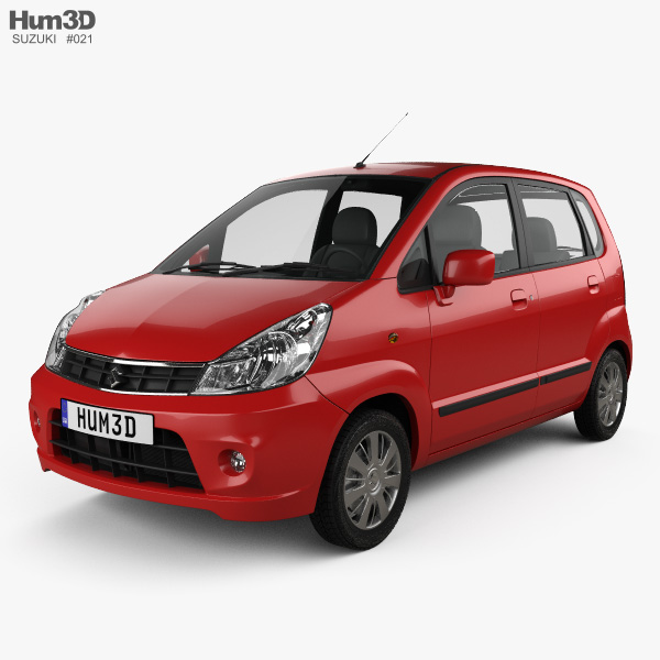 3D model of Suzuki (Maruti) Estilo 2013