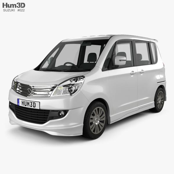 Suzuki Solio S 2012 3D model