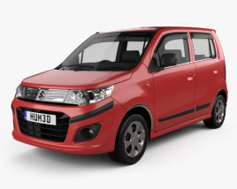 3D model of Suzuki (Maruti) WagonR Stingray 2013