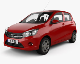 3D model of Suzuki (Maruti) Celerio 2014