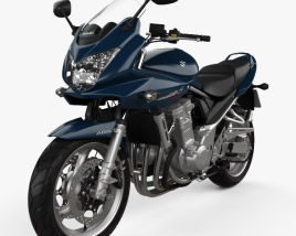 3D model of Suzuki Bandit 1250 S 2007