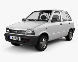 3D model of Suzuki (Maruti) 800 1986