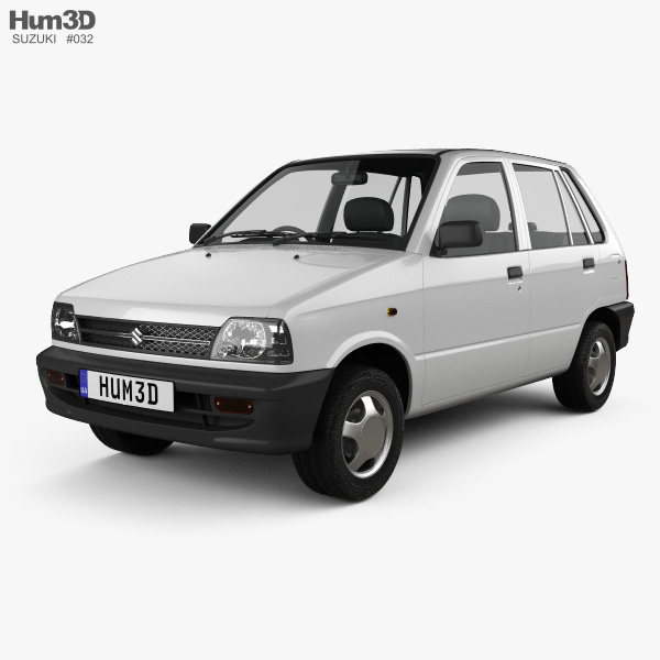Suzuki (Maruti) 800 1986 3D model