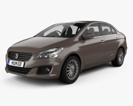 3D model of Suzuki (Maruti) Ciaz 2014