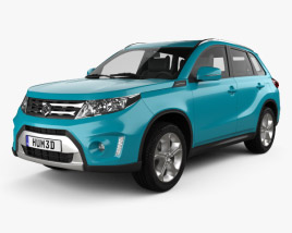 3D model of Suzuki Vitara (Escudo) 2015
