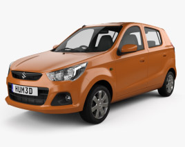 3D model of Suzuki Alto K10 2014