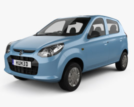 3D model of Suzuki Maruti Alto 800 2014