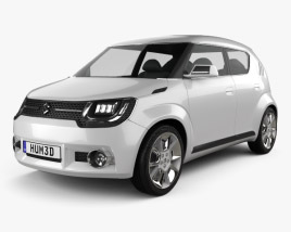 3D model of Suzuki iM-4 2015