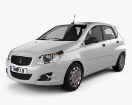 3D model of Suzuki Swift Plus 2008
