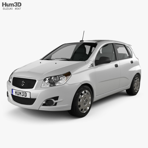 Suzuki Swift Plus 2008 3D model