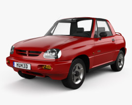 3D model of Suzuki X-90 1996