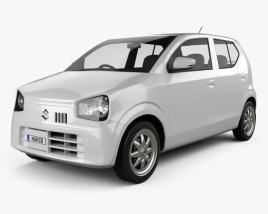 3D model of Suzuki Alto 2014