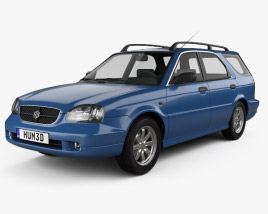 3D model of Suzuki Baleno (Esteem) 1999