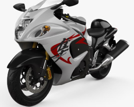 3D model of Suzuki Hayabusa 2008
