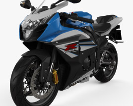 3D model of Suzuki GSX-R1000 2014