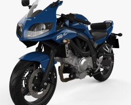 3D model of Suzuki SV650S 2015